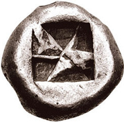 Stater (Andros?) -  revers