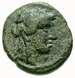 Bronze Æ15 (Andros) – avers
