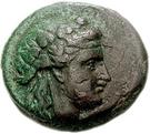 Bronze Æ18 (Andros) – avers