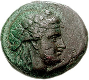 Bronze Æ18 (Andros) -  avers