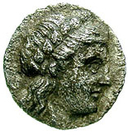 Drachm (Andros) – avers