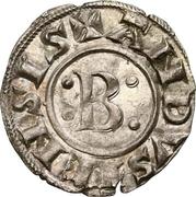 "Denier ""bernardin"" à la croix ancrée - Bernard II – avers"