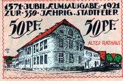 50 Pfennig (Angerburg) – revers