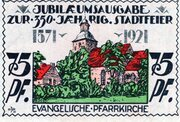 75 Pfennig (Angerburg) – revers
