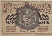 1 Mark (Angerburg) – avers