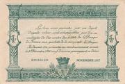 25 centimes - Chambre de Commerce d'Angers et de Maine-et-Loire [49] -  revers