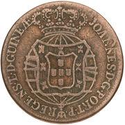 ½ Macuta - João VI (Colonie Portugaise) – avers
