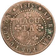 ½ Macuta - João VI (Colonie Portugaise) – revers