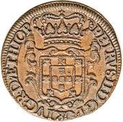 20 reis - Pedro II (Colonie portugaise) – avers