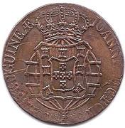 1 Macuta - João VI (Colonie Portugaise) – avers