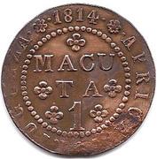 1 Macuta - João VI (Colonie Portugaise) – revers