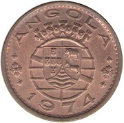 1 Escudo (Colonie portugaise) -  avers