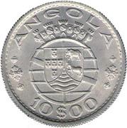 10 Escudos (Colonie portugaise) -  revers
