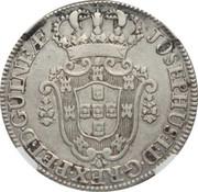 12 Macutas - José I (Colonie Portugaise) -  avers