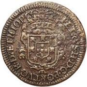 5 Reis - Pedro II – avers
