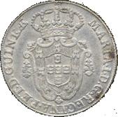 12 Macutas - Maria I (Colonie Portugaise) -  avers