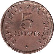 5 Centavos (Colonie Portugaise) -  avers
