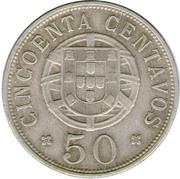 50 Centavos (Colonie Portuguaise) -  revers