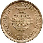 20 Escudos (Colonie portugaise) – revers