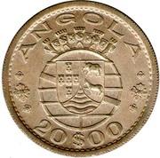 20 Escudos (Colonie portugaise) – avers