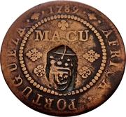1 Macuta (Monnaie contremarquée) – revers