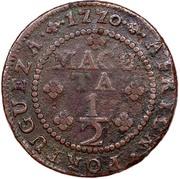 ½ Macuta - José I (Colonie Portugaise) – revers