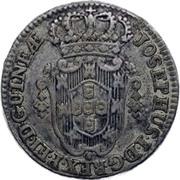 4 Macutas - José I (Colonie Portugaise) -  avers