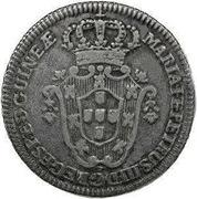 2 Macutas - Maria I & Pedro III – avers