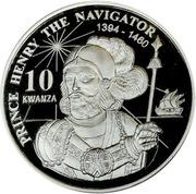 10 kwanzas (Prince Henry) – revers