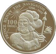 100 kwanzas (Prince Henry) – revers