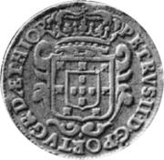 10 Reis - Pedro II (Colonie portugaise) – avers