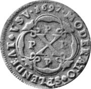 10 Reis - Pedro II (Colonie portugaise) – revers