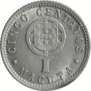 5 Centavos / 1 Macuta  (Colonie Portugaise) -  revers