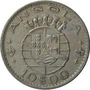10 Escudos (Colonie portugaise) – avers