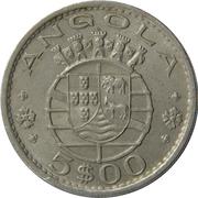 5 Escudos (Colonie portugaise) – avers