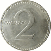 2 Kwanzas -  revers