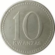 10 Kwanzas – revers