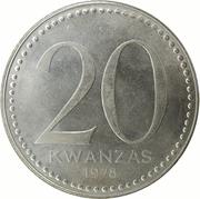 20 Kwanzas – revers