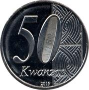 50 Kwanzas (Indépendance) – avers