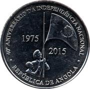 50 Kwanzas (Indépendance) – revers
