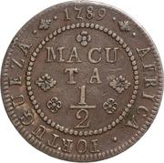 ½ Macuta - Maria I (Colonie Portugaise) – revers