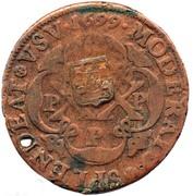 40 Reis (Monnaie contremarquée) -  avers
