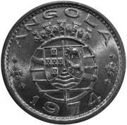 1 Escudo (Colonie portugaise, essai) -  avers