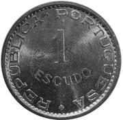 1 Escudo (Colonie portugaise, essai) -  revers