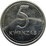 5 kwanzas – revers