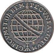 20 Reis - José I (Colonie portugaise) – revers
