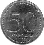 50 kwanzas (Anniversaire kwanzas) -  revers