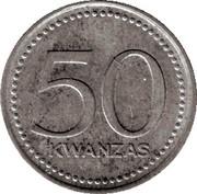 50 Kwanzas – revers