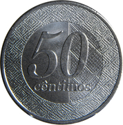 50 centimos -  revers