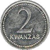 2 kwanzas – revers